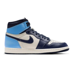"Air Jordan 1 Retro High OG ""Obsidian"" Youth Kids Basketball Shoes Chicago New retro Trainers Sneaker sport fashion Jordan 1 sneakers"