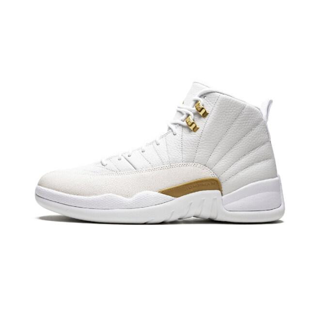 Wholesale Air Jordan 12 Bordeaux Basketball Shoes Men Sport Shoe Bordeaux 12s Sports Athletic Trainers High Quality Sneakers White