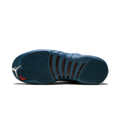 Wholesale Air Jordan 12 Bordeaux Basketball Shoes Men Sport Shoe Bordeaux 12s Sports Athletic Trainers High Quality Sneakers French Blue