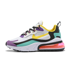 New cheap Air Max 270 React Maxes women Running Shoes Fashion Casual Jogging Outdoor Sports Athletics Trainers Designer Sneakers 270 react Top Quality White Pink size 36-40