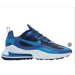 New cheap Air Max 270 React Maxes Men Running Shoes Fashion Casual Jogging Outdoor Sports Athletics Trainers Designer Sneakers 270 react Top Quality sapphire Blue size 40-45