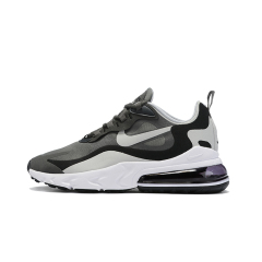 New cheap Air Max 270 React Maxes Men Running Shoes Fashion Casual Jogging Outdoor Sports Athletics Trainers Designer Sneakers 270 react Top Quality Gray Black size 40-45
