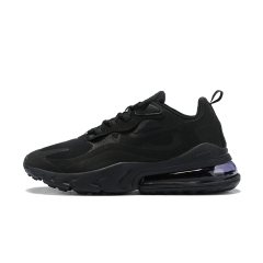 New cheap Air Max 270 React Maxes Men Women Running Shoes Fashion Casual Jogging Outdoor Sports Athletics Trainers Designer Sneakers 270 react Top Quality Black size 36-45