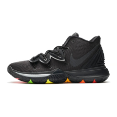 Hot Kyrie 5 x hard wearing Practical cushioning basketball shoes actual flyknit sport sneakers Black