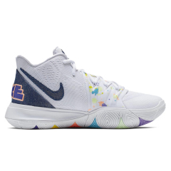 Hot Kyrie 5 x Patrick Embroidered Splatters For Sale basketball shoes actual flyknit sport shoes