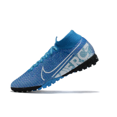 Hot new Mercurial Superfly 7 Elite TF Soccer Shoes CR7 Hero Ronaldo Cleat New XIII Academy Turf breathable waterproof Football Shoes size 39-45