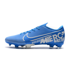 Hot Men Mercurial Vapors XIII Elite FG soccer shoes CR7 Ronaldo Neymar NJR SHHH 13 360 Low Ankle breathable Football Shoes Size 39-45