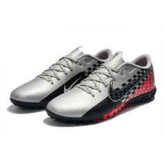 Hot new Mercurial Vapors 13 Academy TF Soccer Shoes CR7 Hero Ronaldo Cleat New XIII Academy Turf breathable speed Football Shoes size 39-45