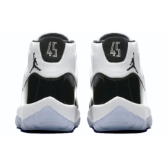 Discount Air Jordan 11 Concord men basketball shoes With Box Sport Sneakers jordan 11 balsketball boots free ship Black White big size