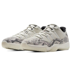 Discount Air Jordan 11 Low snakeskin Men Basketball Shoes air jordan retro 11s Concord mens trainers Sport Sneakers Light Bone big size