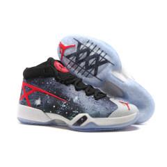 New Air Jordan 30 basketball shoes cool Jordan XXX breathable men AJ 30 sport sneakers Wear-resistant combat trainer sneakers Starry sky