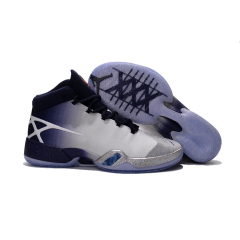 New Air Jordan 30 basketball shoes cool Jordan XXX breathable men AJ 30 sport sneakers Wear-resistant combat Practical sport boots Gray