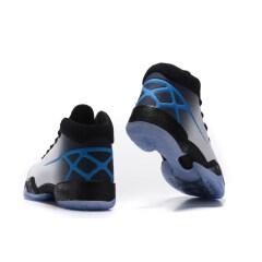 New  Air Jordan 30 basketball shoes cool Jordan XXX breathable men AJ 30 sport sneakers Wear-resistant combat Practical sport boots Black Bule