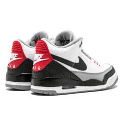 Air Jordan 3 Retro Katrina 3s Quai 54 men Basketball Shoes AJ 3 Tinker Korea JTH Pure white Black Cement Flight Swoosh Sport Sneakers AIR SDFS 40-46