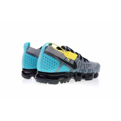 wholesale Air VaporMax 2.0 Flyknit Breathable Athletic running shoes 2019 Air 2.0 Triple Black Men Sport Sneaker Size 36-45 Grey Blue