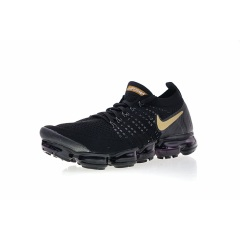 Wholesale Air VaporMax 2.0 Flyknit Breathable Athletic running shoes 2019 Air 2.0 Triple Black Men Sport Sneaker Size 36-45 Black Yellow