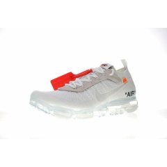 Discount OFF-WHITE X Nike Air Vapormax 2.0 Sneakers breathable Running Shoes for Mens Women Limited Release Triple White Black Sneakers vapormax  2.0 White