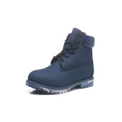2019 New waterproof boots Classic men women Designer casual Shoes Sneakers breathable Trainers half boots Camouflage blue