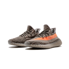 "Yeezy Boost 350 V2 ""Beluga"" Steel Grey/Beluga/Solar Red On Sale running shoes Men/Woman sport shoes"