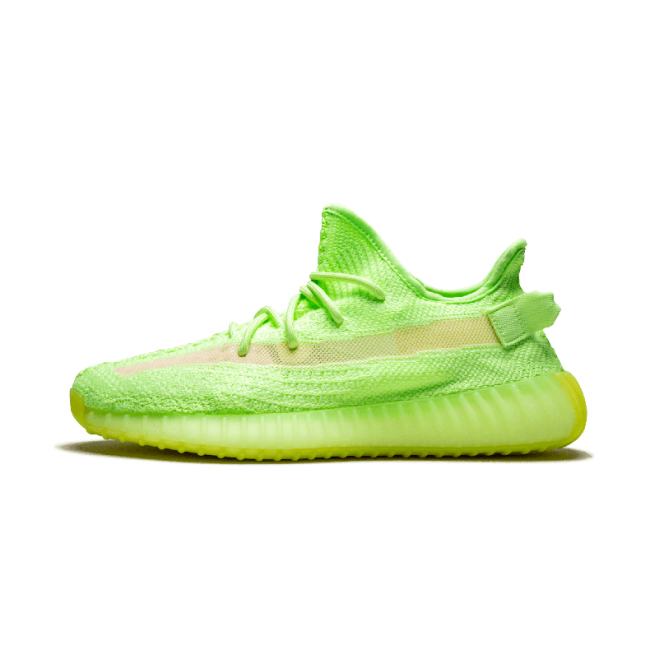 "Yeezy Boost 350 V2""Gid Glow"" Luminous yeezy breathable running shoes Men/Woman sport shoes"