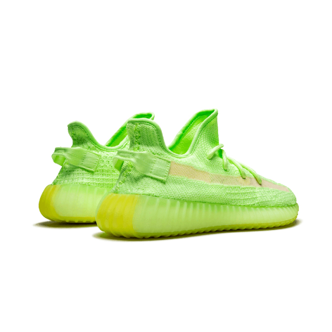 """Yeezy Boost 350 V2""""Gid Glow"""" Luminous yeezy breathable running shoes Men/Woman sport shoes"""