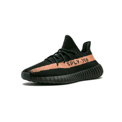 "Yeezy Boost 350 V2 ""Black/Copper"" Core Black/Copper/Core Black V2 running shoes Men/Woman sport shoes"