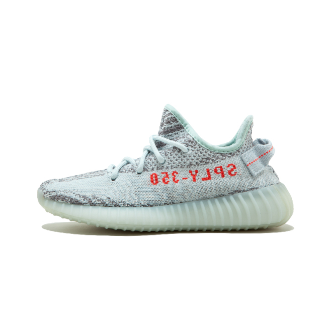 Yeezy Boost 350 V2 Blue Tint Grey Three / High Res Red Running shoes Men/Woman sport shoes