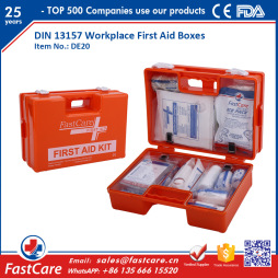 DIN 13157 Workplace First Aid Boxes