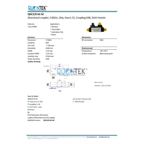 QDC2/8-6S-50