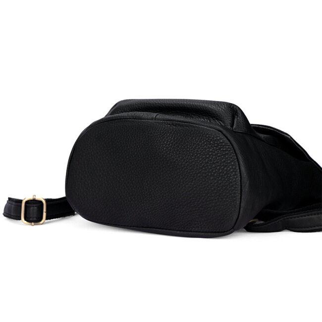 Leather shoulder bag women's Korean Edition women's bag 2020 New Retro casual cowhide backpack schoolbag school style travel bag