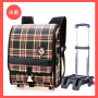 Factory Japanese British nobility Grade 1-3 pull rod backpack children's schoolbag