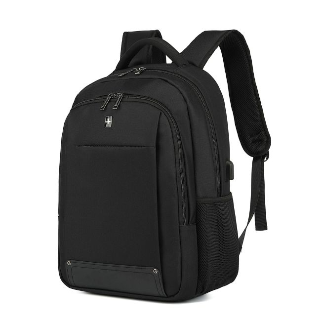 Backpack men's USB computer backpack outdoor leisure college students backpack schoolbag customized logo