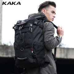 New double shoulder bag Oxford cloth travel bag men's outdoor backpack large capacity luggage bag multifunctional hiking bag