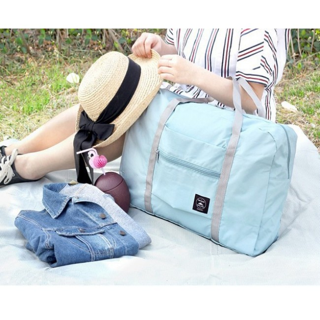 Korean version of foldable traveling bag luggage bag moving plane bag men and women packing bag luggage bag storage bag