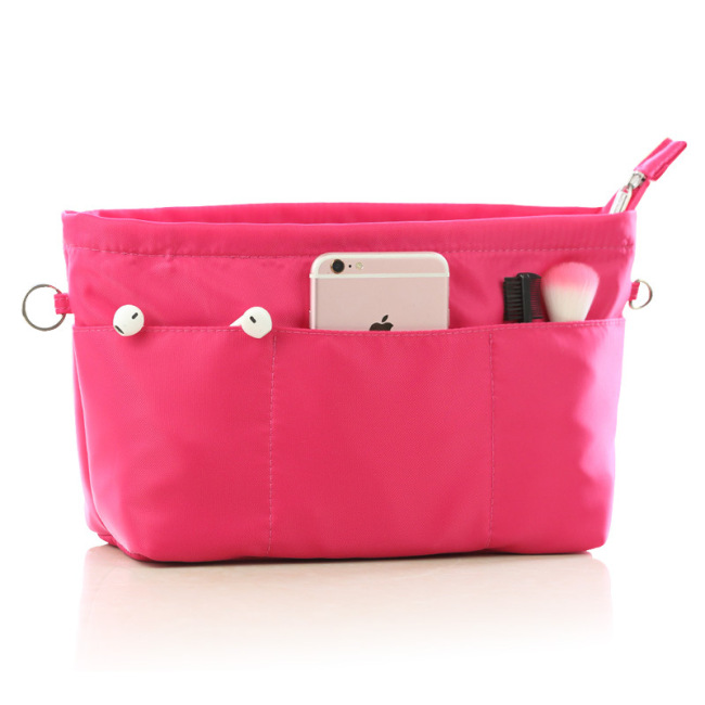Nylon bag inner bag inner bag cosmetic bag portable finishing bag