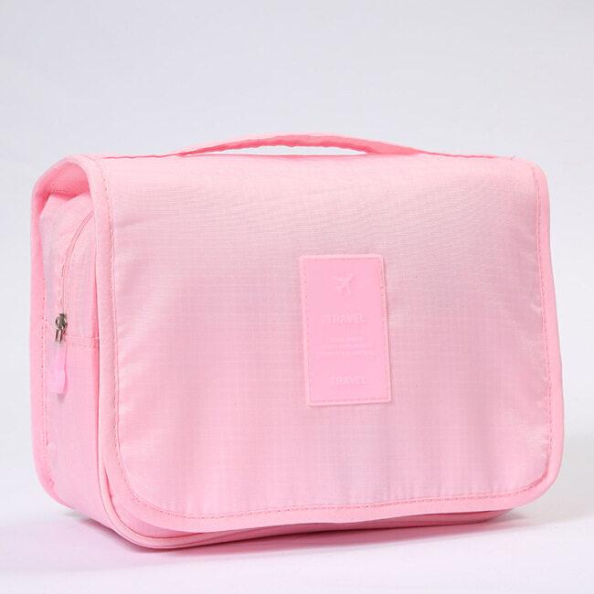 Large capacity cosmetic bag new waterproof hook washing bag customized multi-functional travel cosmetics storage bag wholesale