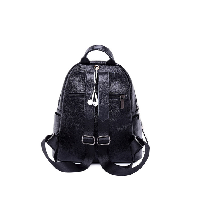 Backpacker women's new leather leather shoulder bag  women's soft leather bag