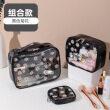 Three piece set (black chrysanthemum)