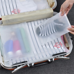 Travel storage bag travel clothes arrangement waterproof sealed bag clothing separate luggage storage bag