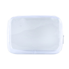Transparent PVC stereo zipper Cosmetic Bag Travel waterproof Washing Bag Cosmetic Gift portable storage bag