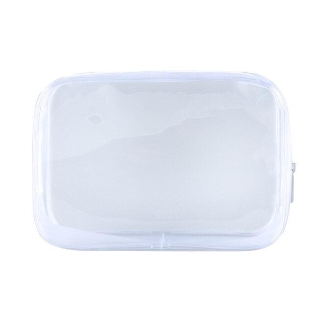 Transparent PVC stereo zipper Cosmetic Bag Travel waterproof Washing Bag Cosmetic Gift portable storage bag