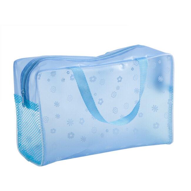 Spot wholesale portable PVC wash bag travel waterproof bath bag portable finishing bag transparent wash bag