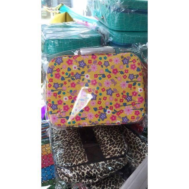 New summer make-up bag Korea lovely make-up box storage bag stone pattern Bridesmaid bag manufacturer direct sales