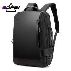 New double shoulder bag waterproof large capacity travel men's backpack USB business computer backpack manufacturer customized brand