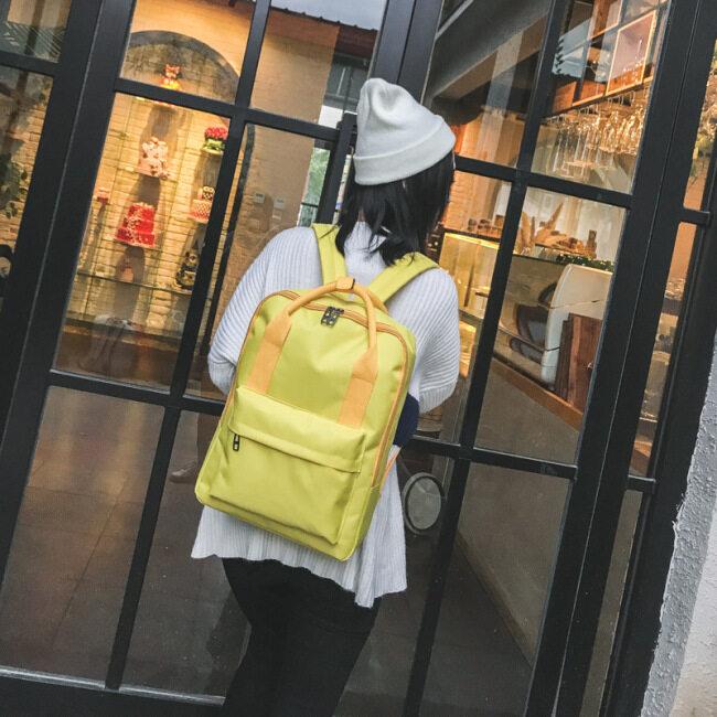 Schoolbag custom printing logo primary school boys and girls junior high school students advertising gift printing customized training course