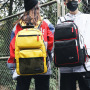 Students' backpacks fashion trend large capacity schoolbag college students' leisure male junior high school students' schoolbag students' Backpack