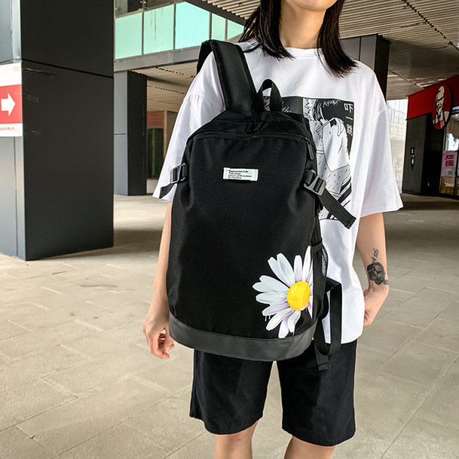 2020 new double shoulder bag female Korean Edition primary school students schoolbag cartoon leisure trend versatile Travel Backpack man