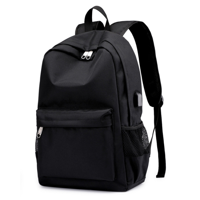 Source of foreign trade backpack men's leisure USB men's backpack breathable wear-resistant computer bag travel bag wholesale distribution