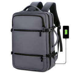 OEM customized new business commuting USB multifunctional waterproof student travel men's computer backpack Backpack