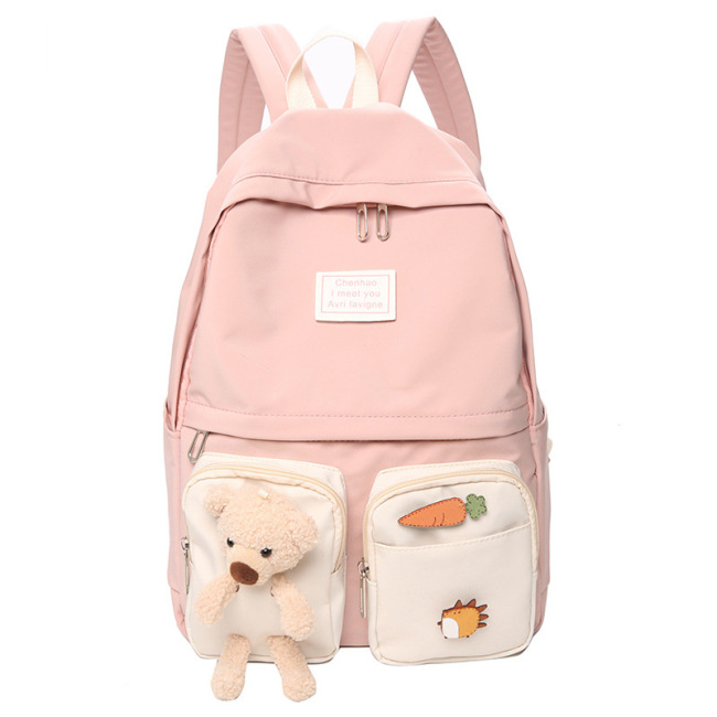 Schoolbag female original residence ulzzang campus middle school students primary school girls' heart Backpack